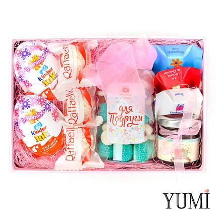 Стильный подарочный набор сладостей для подруги, фото 2