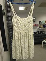Женское летнее мини платье с цветочным принтом Abercrombie & Fitch, фото 1