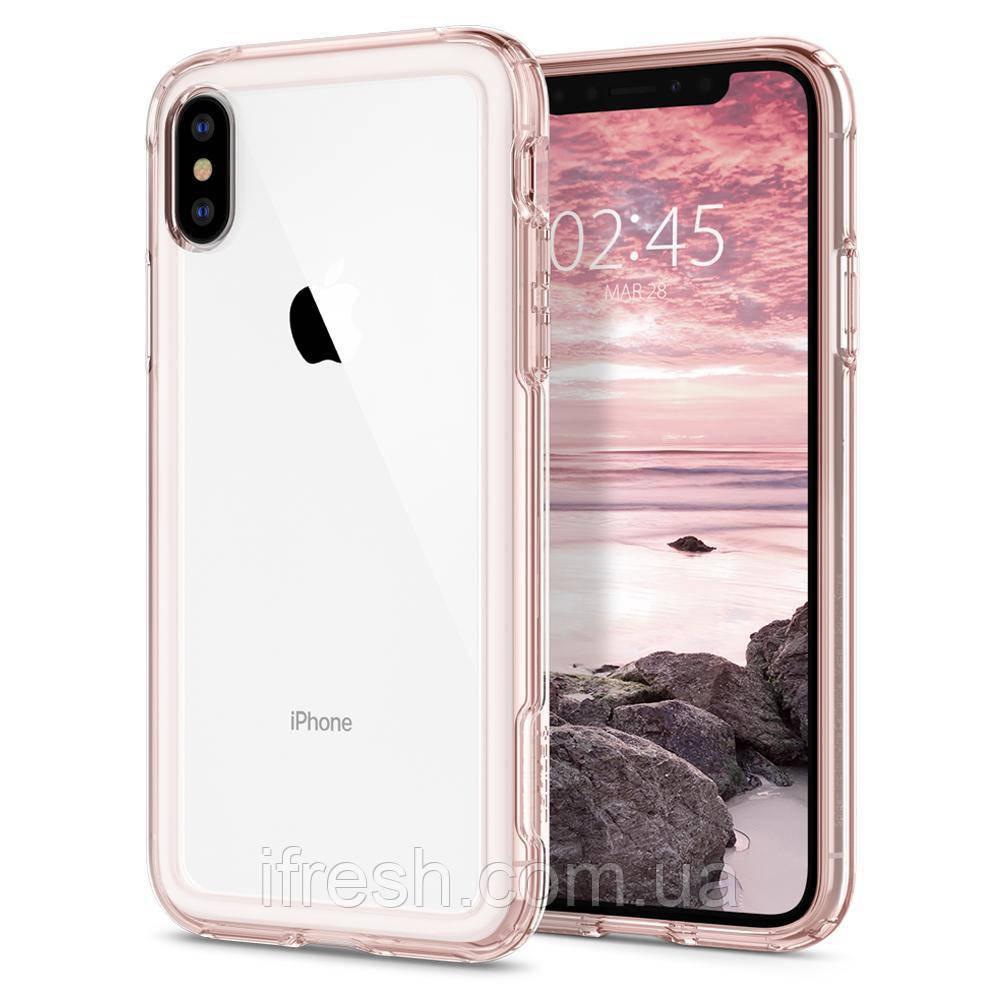 Чехол Spigen для iPhone XS Slim Armor Crystal, Rose Crystal (063CS24524)