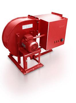 Калориферна установка Титан типу СФОЦ реверсна 45 кВт 380 В