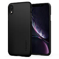 Чехол Spigen для iPhone XR Thin Fit, Black (064CS24864)
