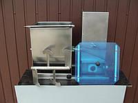 Электрический фаршемес с крышкой, производитель польша, 0,37 квт, скорость вращения 30 об/мин., объем 30 л
