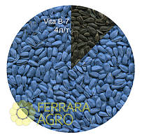 Краска для семян голубая VITA B-7, подсолнечник