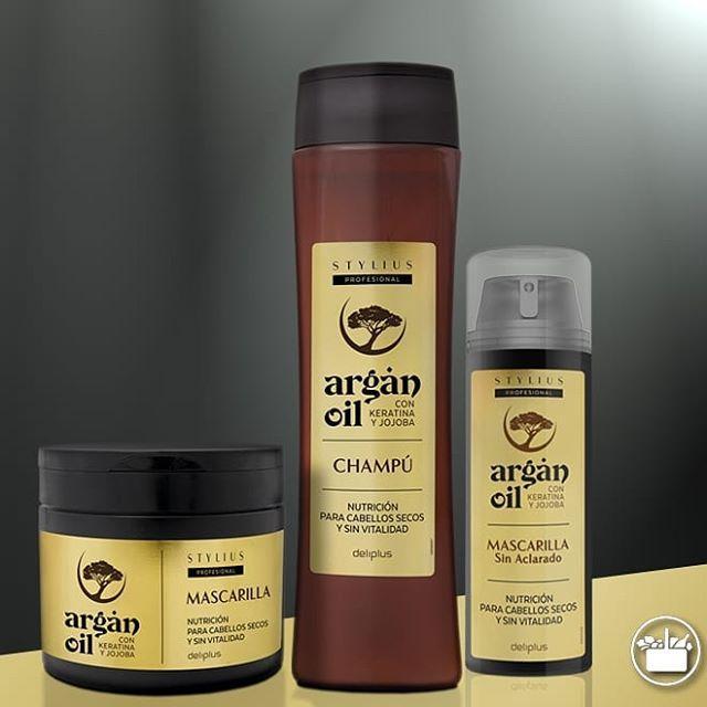 Линия Argan Oil, Deliplus, комплексный уход для сухих волос ,Испания