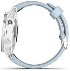 Смарт-годинник Garmin fenix 5S Plus White with Sea Foam Band, фото 3