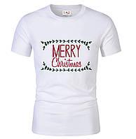 Футболка  MERRY CHRISTMAS  для мужчин