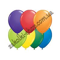 Латексные надувные шары standart пастель ассорти 12 дюймов/30 см 100 штук в упаковке