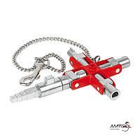 Ключ для шкафов и систем запирания - Knipex 00 11 06 V01