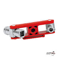 Ключ для шкафов и систем запирания - Knipex 00 11 06 V02