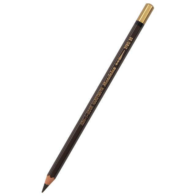 Карандаш акварельный MONDELUZ dark brown/темно-коричневый