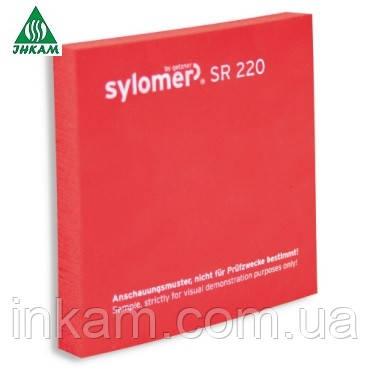 Sylomer SR220 12.5мм красный полиуретановыйэластомер