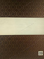 Рулонные шторы День-Ночь Амбер коричневый