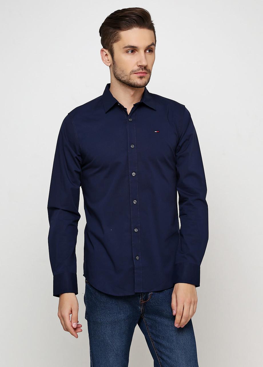 Рубашка мужская TOMMY HILFIGER цвет синий размер M арт 1957888891002