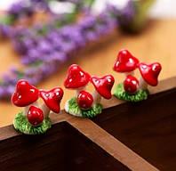 Декоративные грибочки для муравьиной фермы