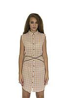 Рубашка, женская Maison Scotch цвет бежевый размер S