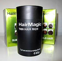 Чудо-средство для маскировки залысин (проплешин) hair magic, увеличивает густоту волос, натуральное, 4 цвета