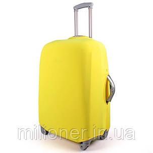 Чехол для чемодана Bonro средний M желтый, фото 2