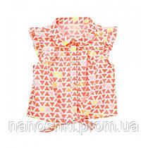Crazy8 блузка для девочки в треугольники