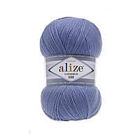 Пряжа Alize Lanagold 800 - 40 голубой (Ализе Лана голд 800)