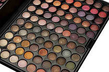Тени для макияжа 88 цветов, теплые мерцающие. Палитра/палетка теней, фото 2