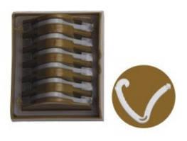 Полимерные клипсы гемолок, экстра-большие (XL)