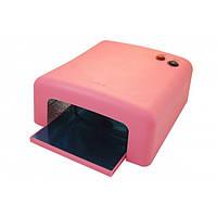 Уф лампа 818 Global Fashion 36 Вт розовая