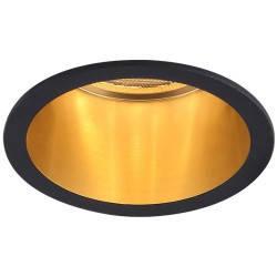 Встраиваемый светильник Feron DL6003 черный-золото, фото 2