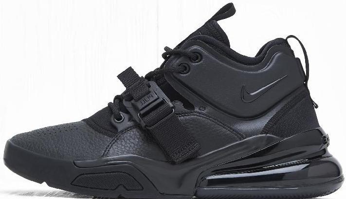 """Мужские кроссовки в стиле Nike Air Force 270 """"Black / White"""" ( в стиле Найк )"""