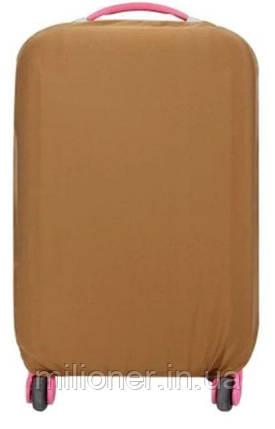 Чехол для чемодана Bonro средний M коричневый, фото 2