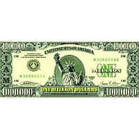 Сувенирные деньги миллион долларов. Пачка долларов 80 шт.