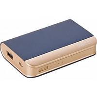 Додатковий акумулятор 7500 mAh Recci RE-7500 Elegant Dark Blue
