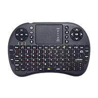 Портативная клавиатура для планшетов, беспроводная, тачпад, англ./рус. раскладка, питание от аккумулятора, usb