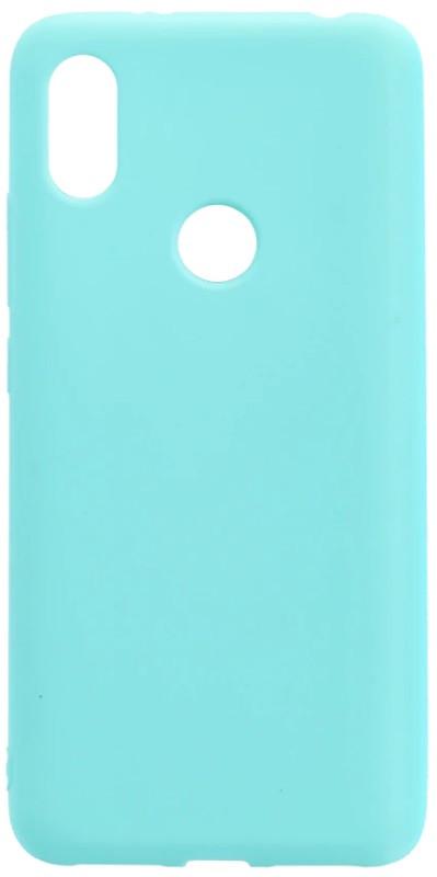 Чехол накладка Candy для Xiaomi Redmi S2 Силиконовый Бирюзовый
