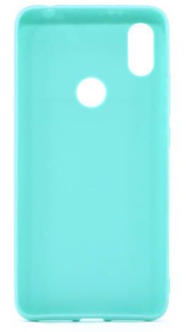 Чехол накладка Candy для Xiaomi Redmi S2 Силиконовый Бирюзовый, фото 2