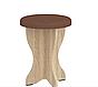 Кухонный уголок Боярин с круглым столом и табуретами Пехотин, фото 3