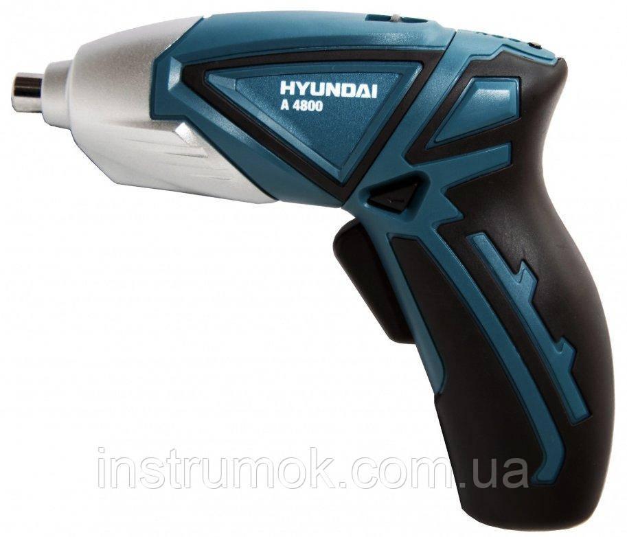 Аккумуляторная отвертка 4,8 В HYUNDAI A4800