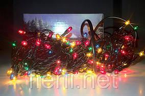Гирлянда электрическая 200 лампочек (9 режимов, контроллер)