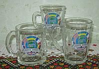 Стеклянная посуда с нанесением, фото 1