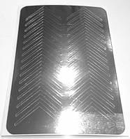 Металлизированные наклейки для ногтей Canni M-002 Серебро