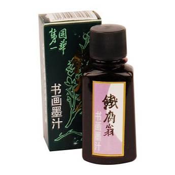 Тушь китайская жидкая (100г), черная, D.K.ART & CRAFT