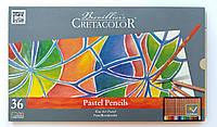 Набор пастельных карандашей, Fine Art Pastel, 36 шт., мет. коробка, Cretacolor