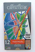Набор пастельных карандашей, Fine Art Pastel, 12шт., мет. коробка, Cretacolor