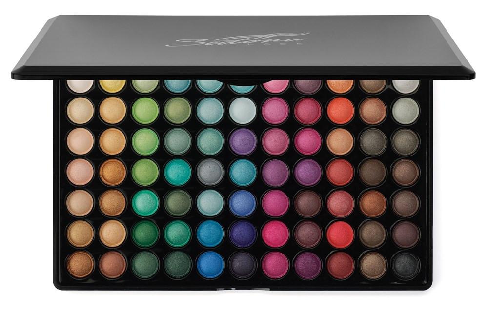 Тени для макияжа 88 цветов полноцветные. Палитра/палетка теней  - Интернет-магазин Allegoriya в Днепре