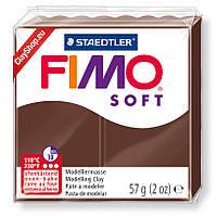 Пластика Soft, Шоколад, 57г, Fimo