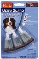 Hartz UltraGuard 3 в 1 Капли от блох и клещей для больших собак весом от 27 кг