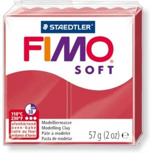 Пластика Soft, Вишневый, 57г, Fimo