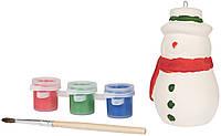 Набір для розфарбовування сніговика, фото 1