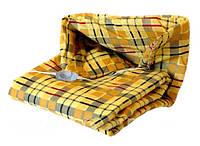 Одеяло-обогреватель, с терморегулятором, разных цветов, питание от сети 220в, быстрый нагрев, 170*105 см