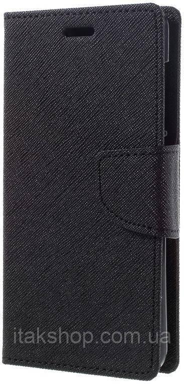 Чехол-книжка TOTO Book Cover Mercury Xiaomi Redmi Note 3 Black