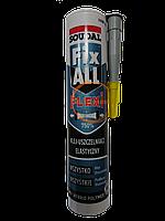 Клей-герметик Fix ALL Flexi 290мл Soudal сірий